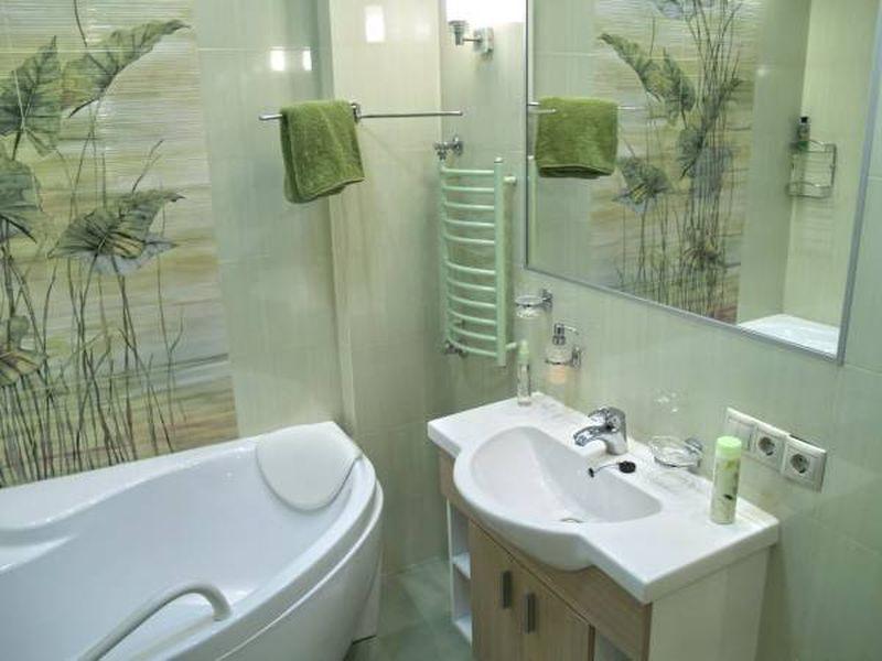 Дизайн в малометражную ванную